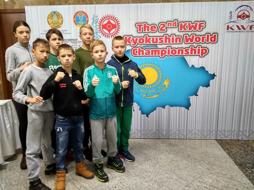 Чемпіонат світу з кіокушин карате, Астана. Фото