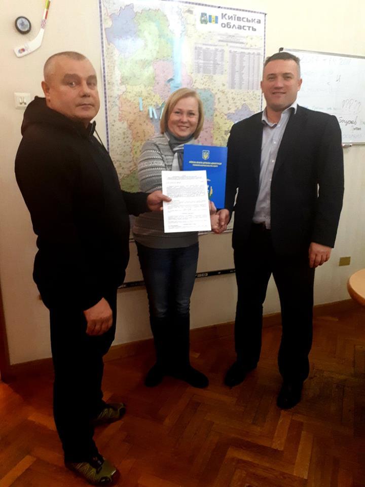 Підписання угоди з Федерацією лижного спорту. Фото