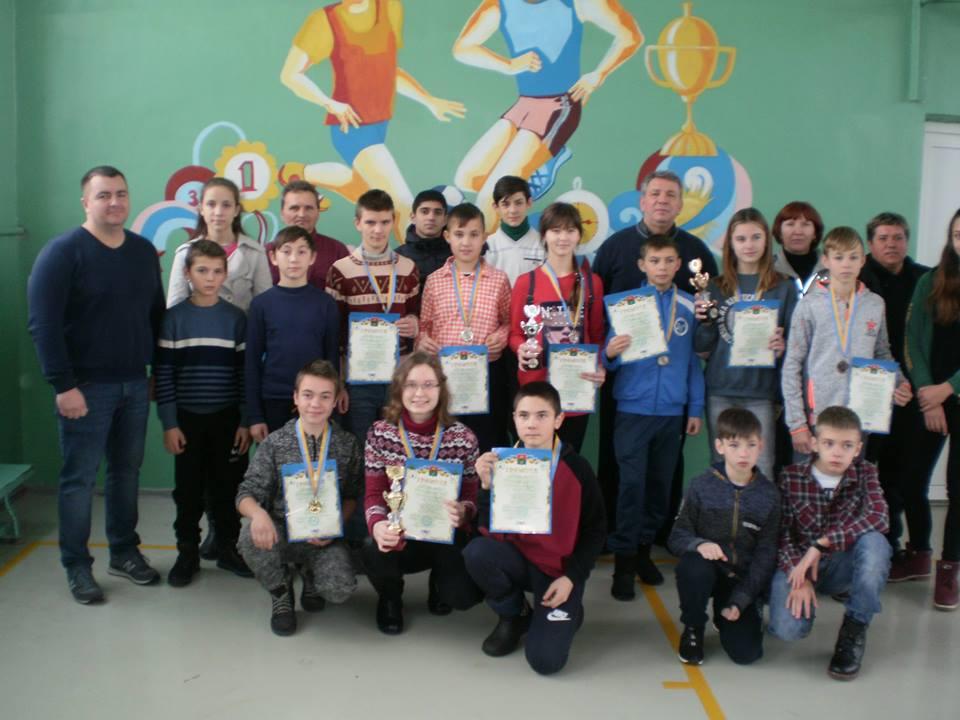 Першість Васильківського району з шашок. Фото