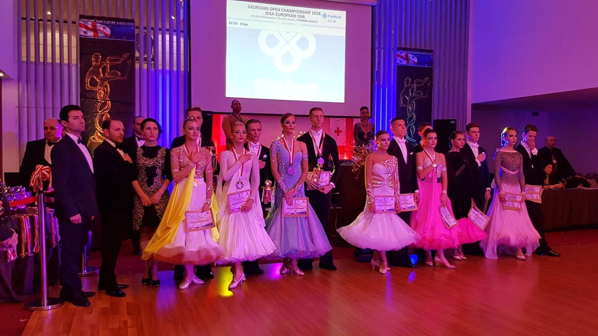 Чемпіонат Європи зі спортивних танців, Грузія. Фото