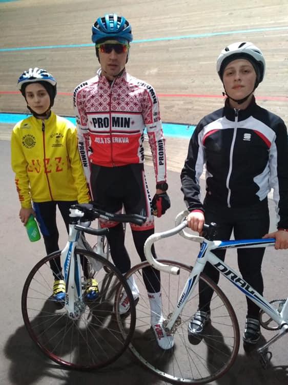 відкритий зимовий чемпіонат України з велосипедного спорту, Львів. Фото