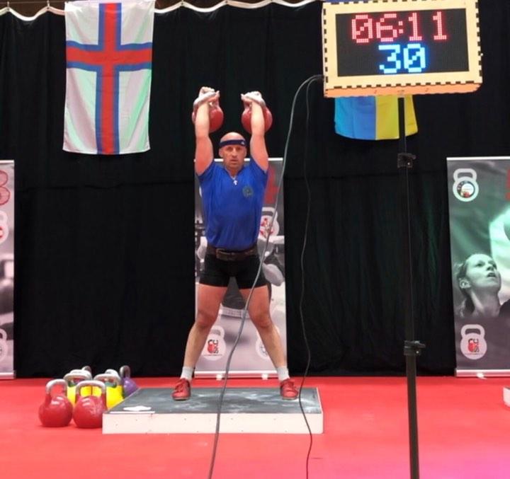 2-й етап Кубку світу з гирьового спорту, Данія. Фото