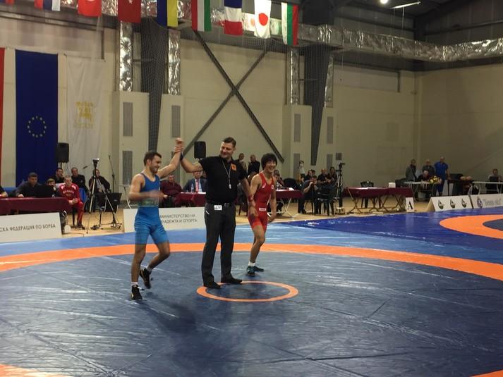 Чемпіонат з вільної боротьби виграв Яценко Болгарія. Фото