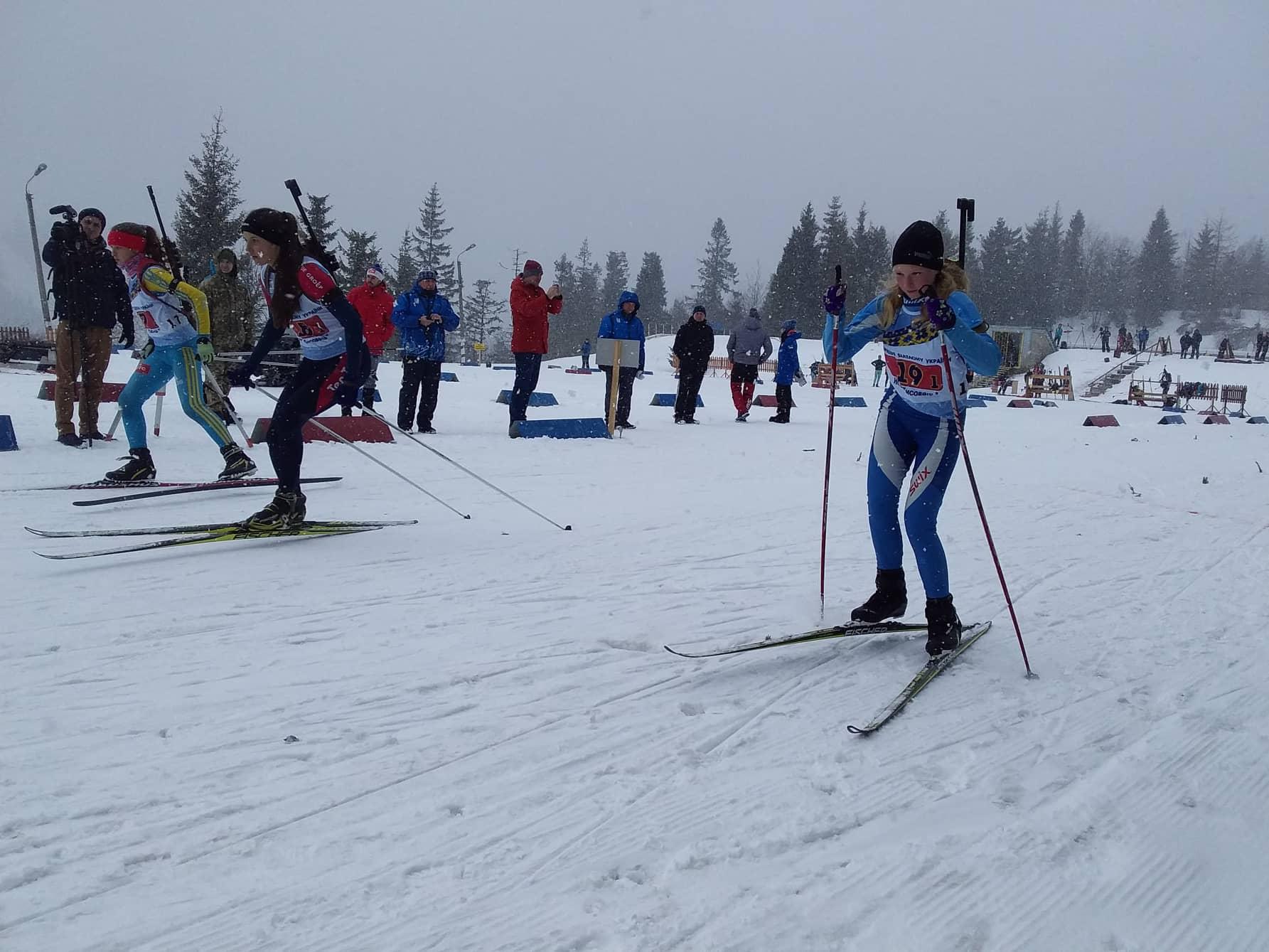 Чемпіонат України з біатлону, Сколе. Фото