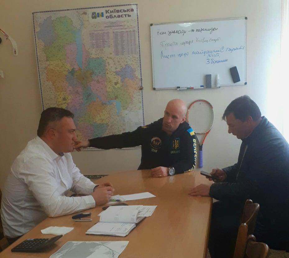 Тимофєєв зустрівся з представниками Союзу гирьового спорту. Фото