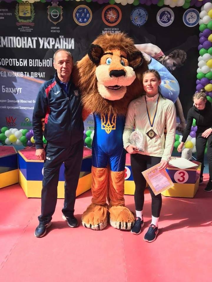 Чемпіонат України з вільної боротьби серед юнаків і дівчат, Бахмут. Фото