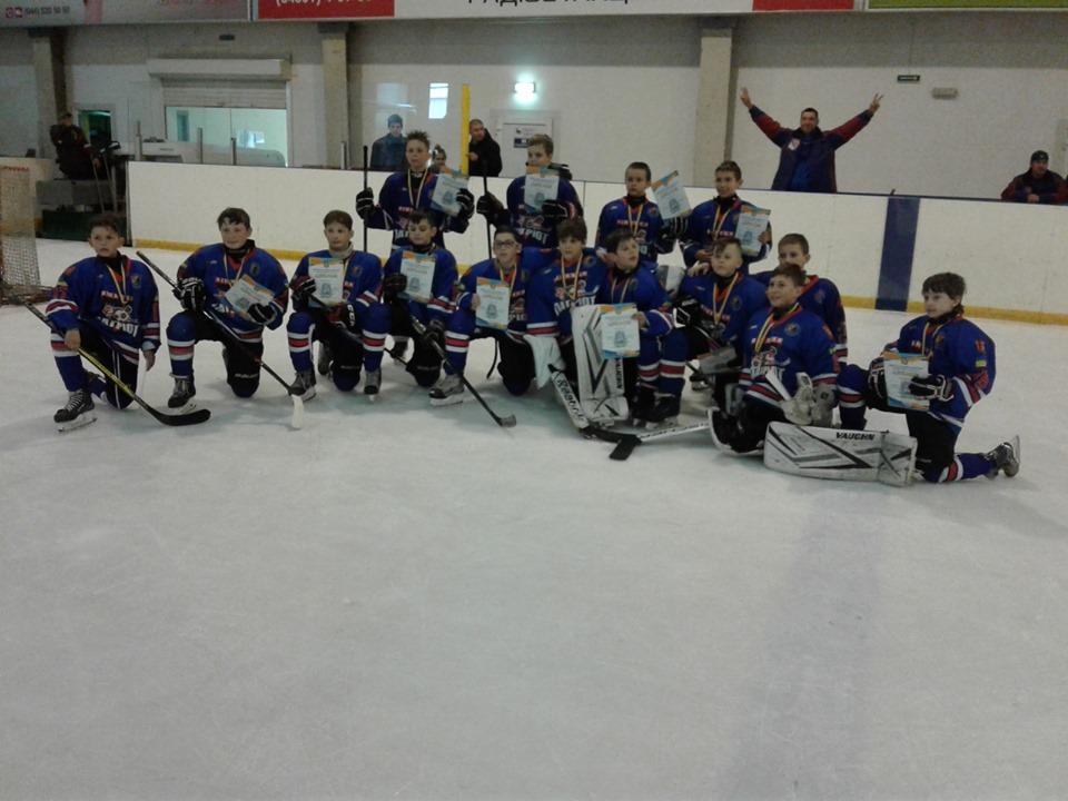 Чемпіонат Київської області з хокею, Богуслав. Фото