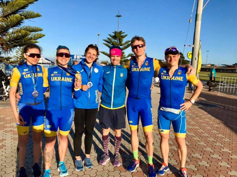 Етап чемпіонату світу 2020 з паратриатлону, Австралія. Фото