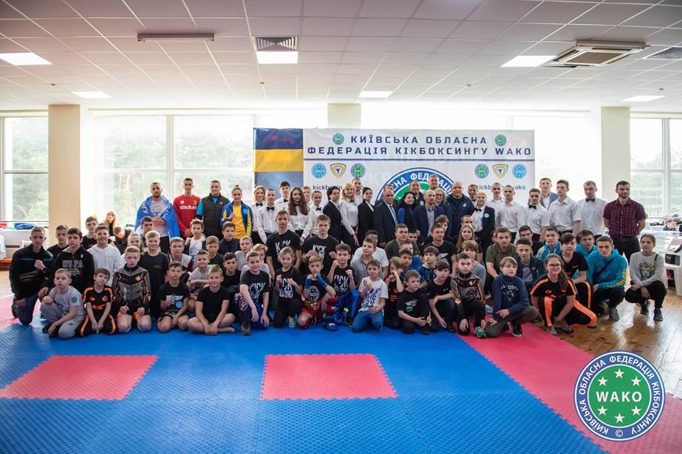 Чемпіонат Київської області з кікбоксингу ВАКО. Фото
