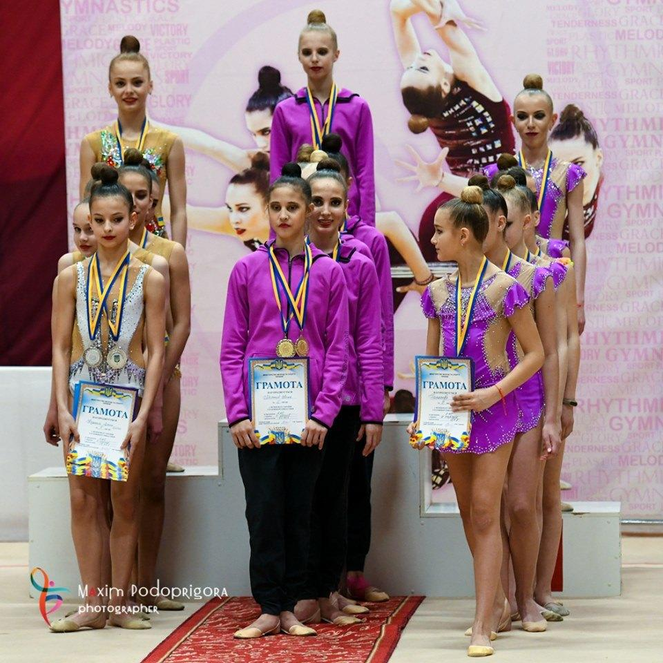 чемпіонат України з художньої гімнастики. фото