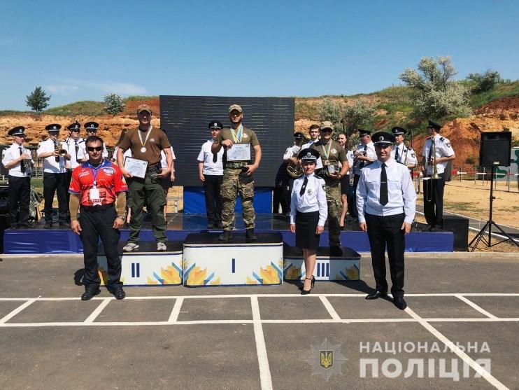 Чемпіонат Національної поліції з практичної стрільби. Фото