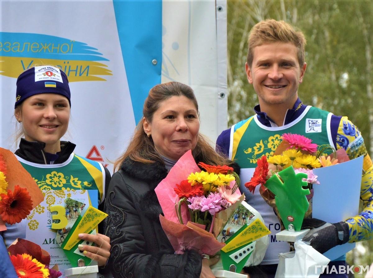 Гонка чемпіонів, біатлон, Чернігів. Фото