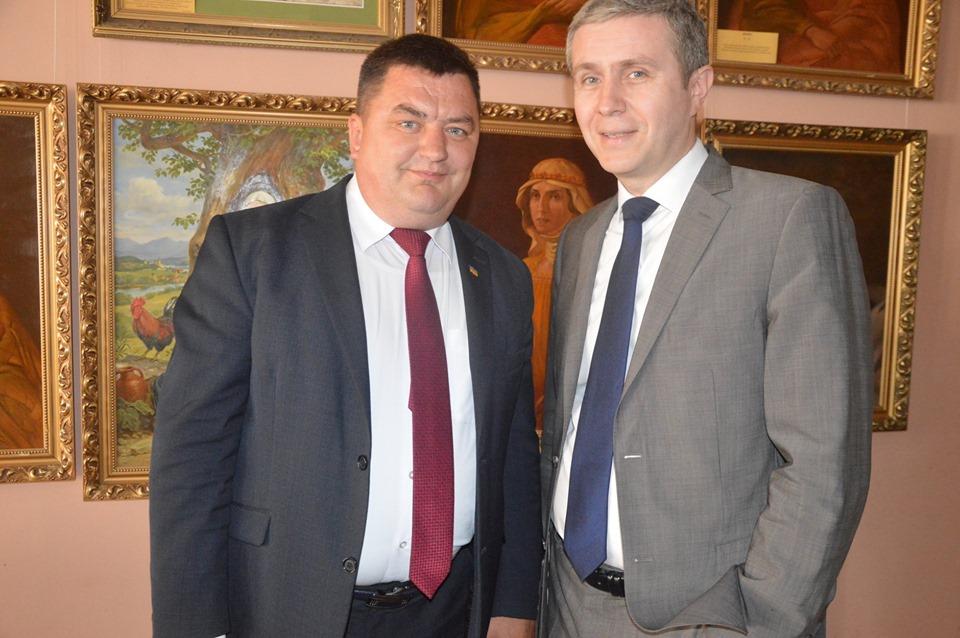 В'ячеслав Кучер, Сергій Дехтяренко. Фото