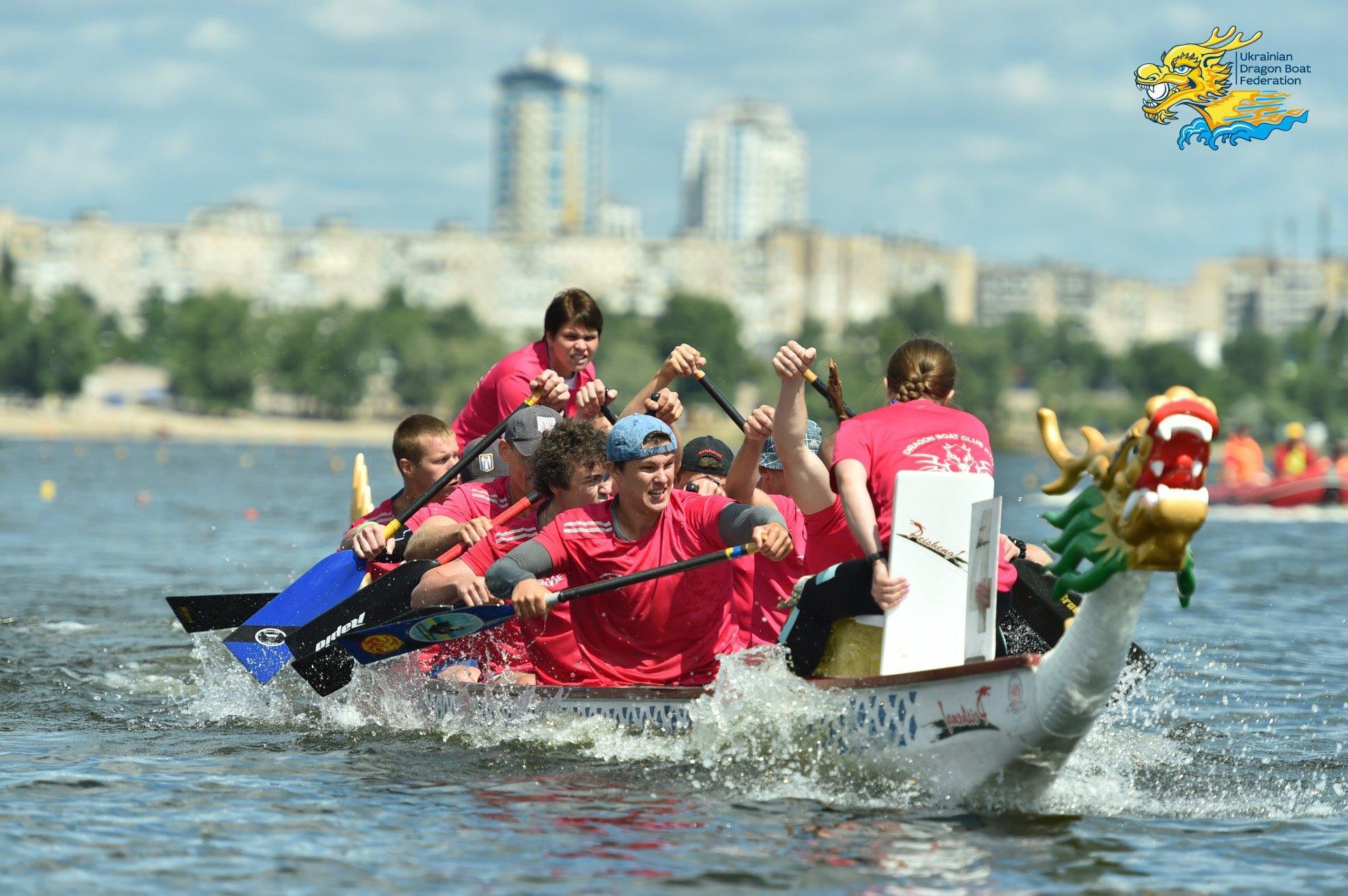 Чемпіонат України з веслування на човнах Дракон. фото