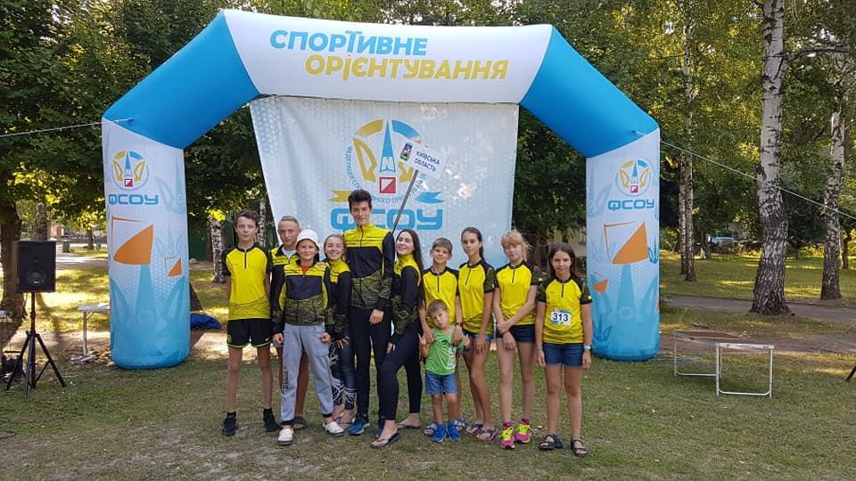 Чемпіонат України зі спортивного орієнтування серед школярів. фото
