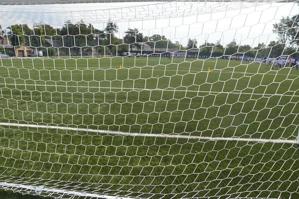 Відкриття футбольного поля у с. Пірнове. Фото