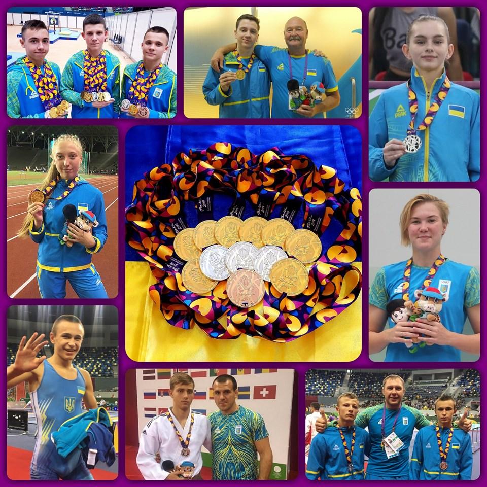 ХV літній Європейський юнацький олімпійський фестиваль. фото