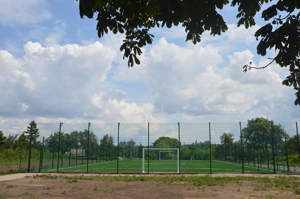 Інспекція спортивної інфраструктури в Пустоварівці. Фото