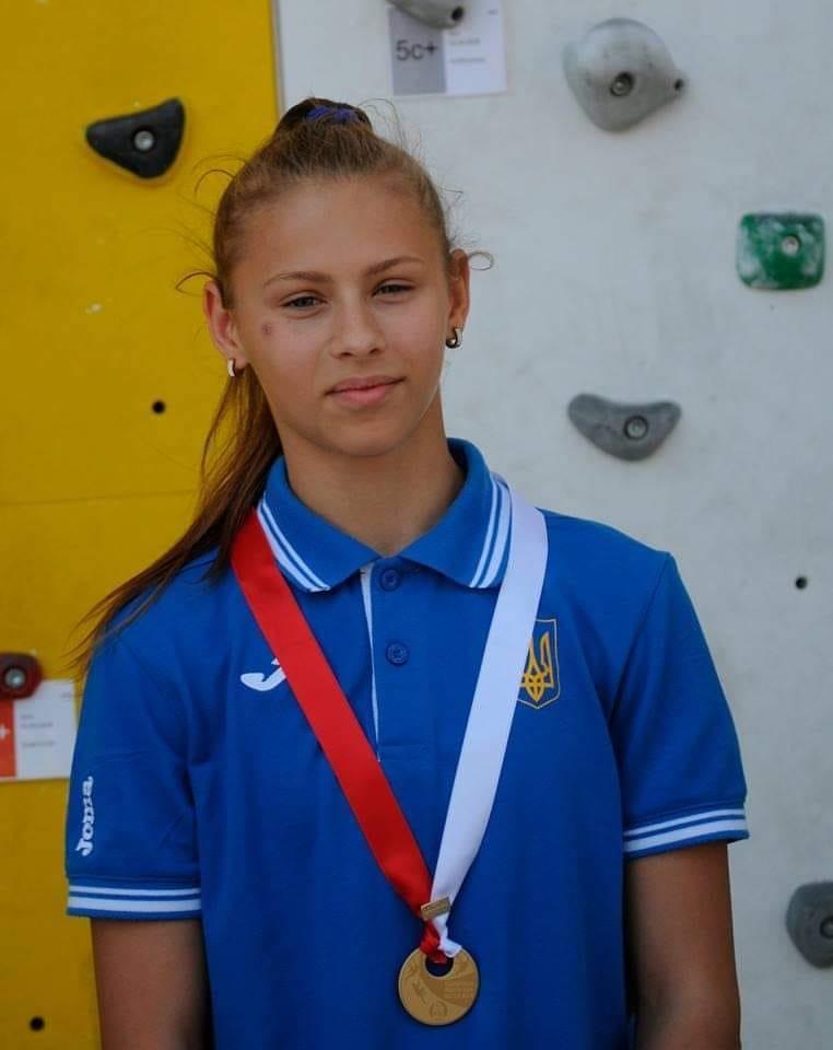 Етап молодіжного Кубку Європи зі скелелазіння в розділі трудність. фото