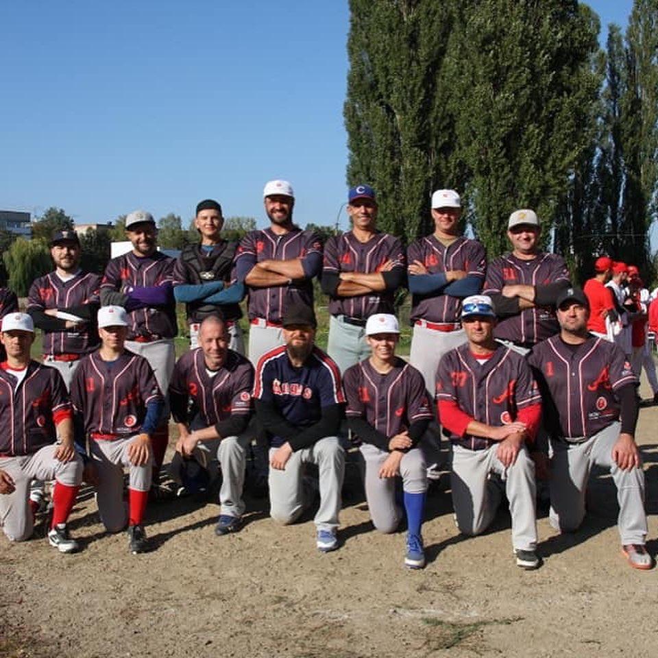 Західний Вогонь - Атма, 6 тур чемпіонату України з бейсболу. Фото