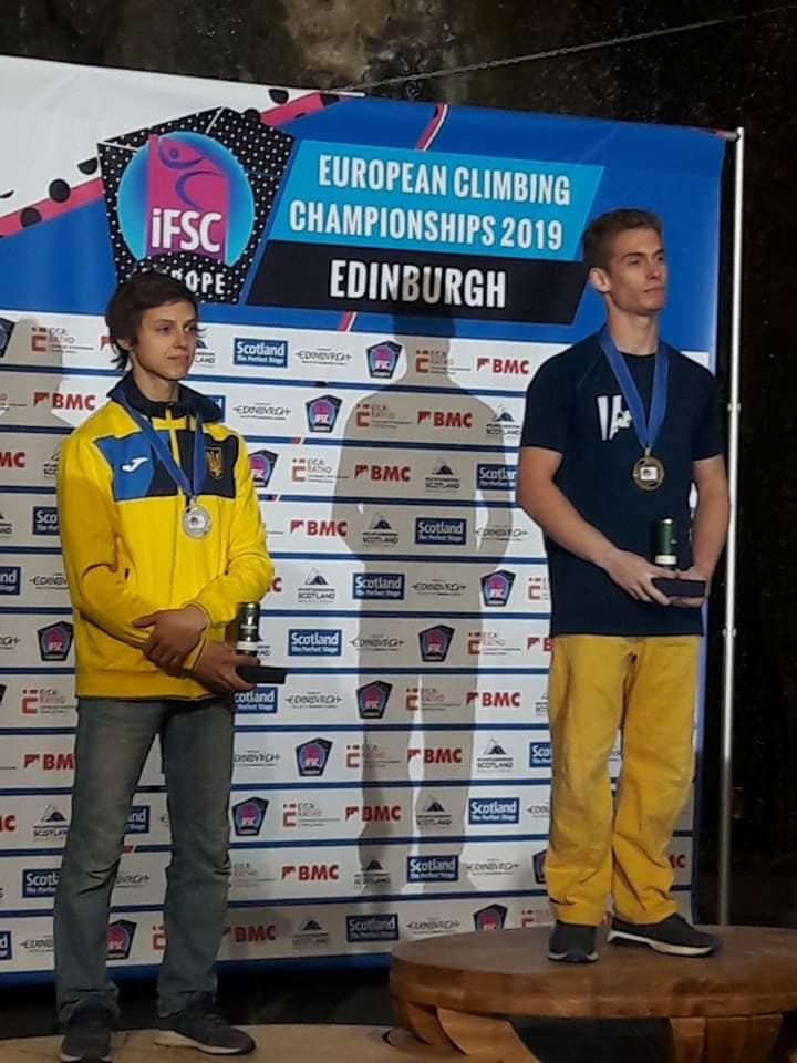 Чемпіонат Європи зі скелелазіння, Единбург. Фото