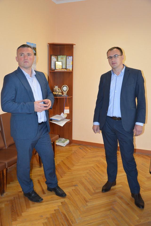 Візит Сергія Тимофєєва на Тетіївщину. Фото