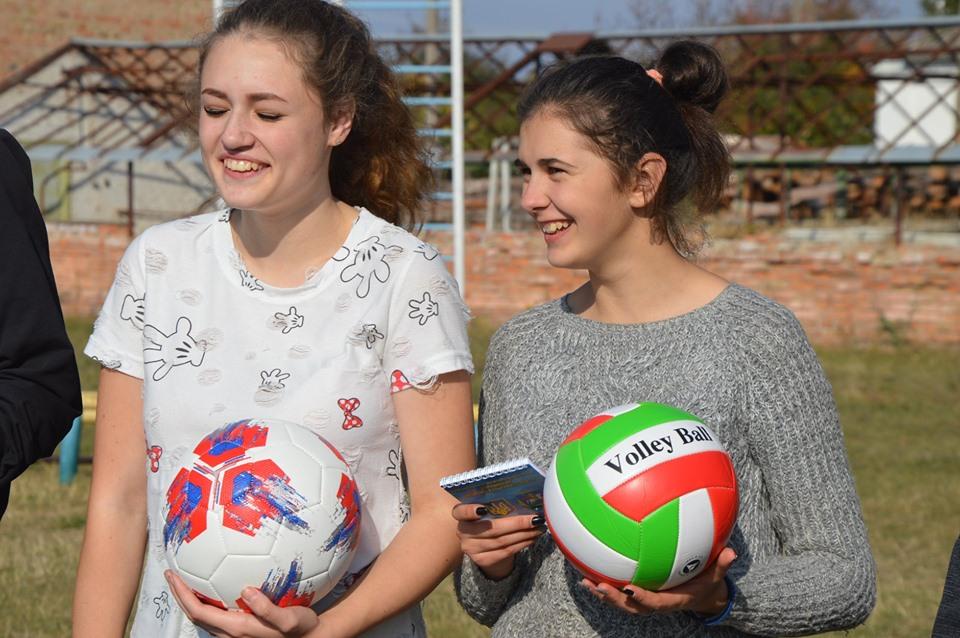 Спортивний урок в Тетієві. Фото