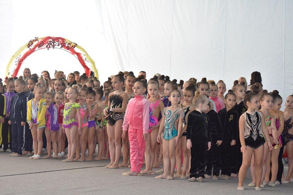 Турнір з художньої гімнастики Золота осінь у Щасливому. Фото