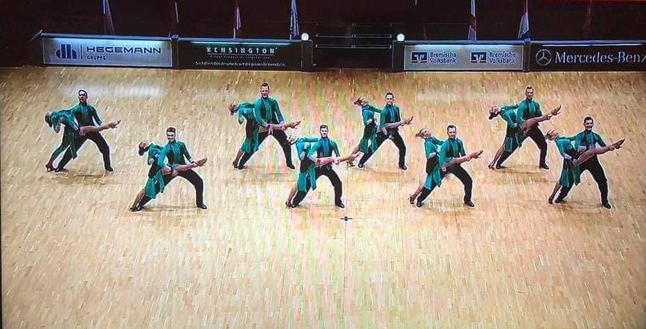 Чемпіонат світу серед команд формейшен, Бремен. Фото