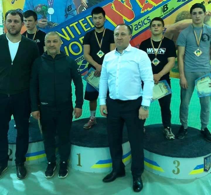 Чемпіонат України з греко-римської боротьби. фото
