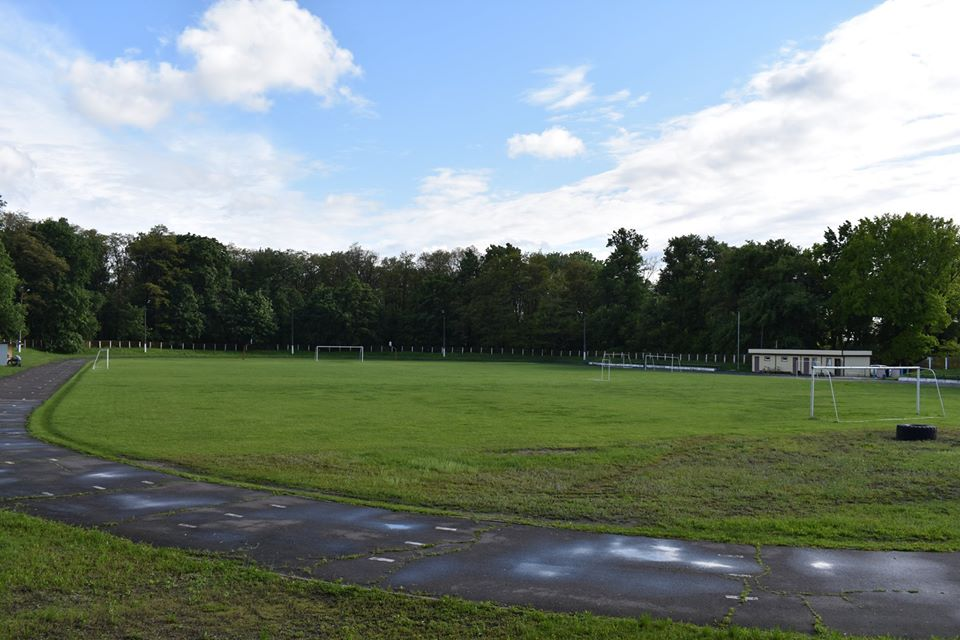Відкриття футбольного поля в Згурівці. Фото