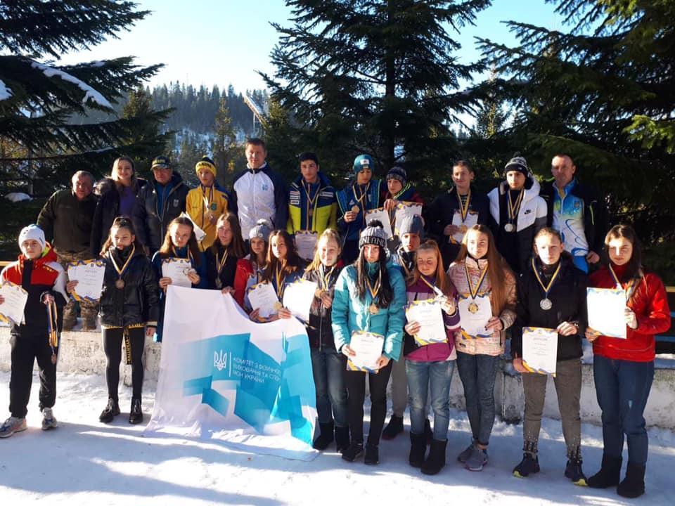 Всеукраїнські змагання з лижних гонок серед юнаків та дівчат. фото