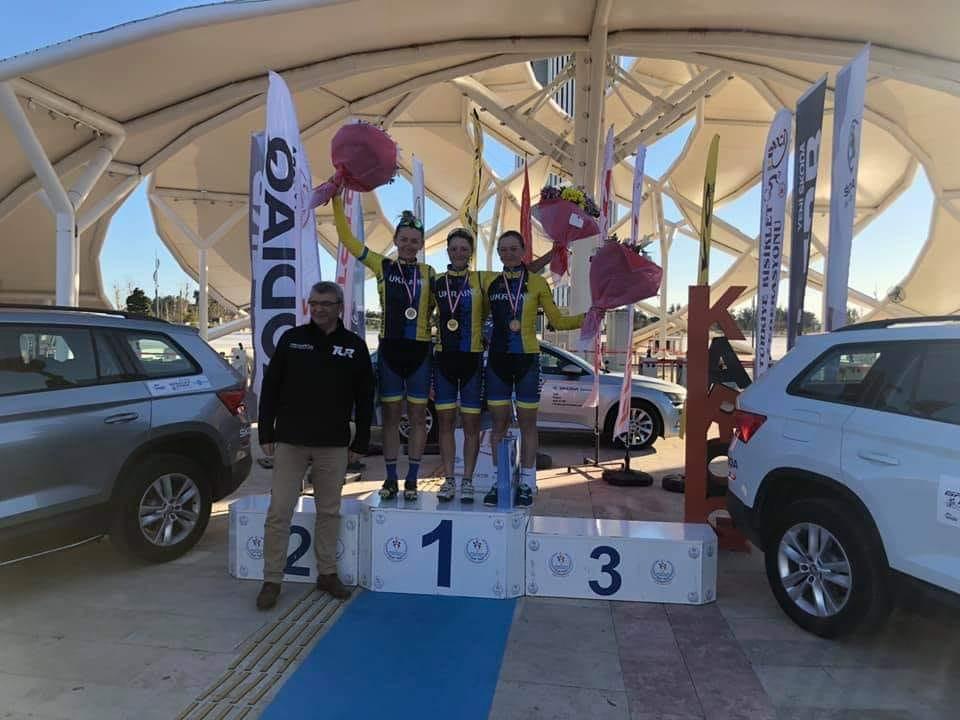 міжнародні змагання з велосипедного спорту категорії 1.2. GP Belek. фото