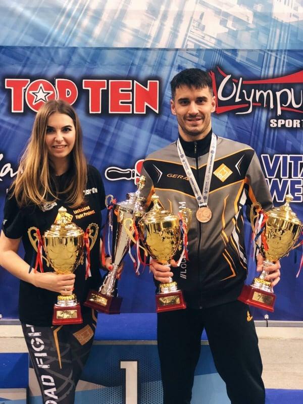 Турнір світової серії з кікбоксингу WAKO, Афіни. Фото