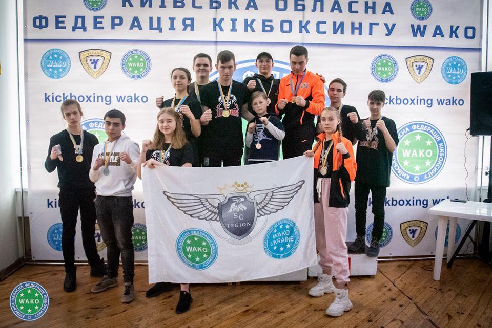 Чемпіонат Київщини з кікбоксингу, Конча-Заспа. Фото