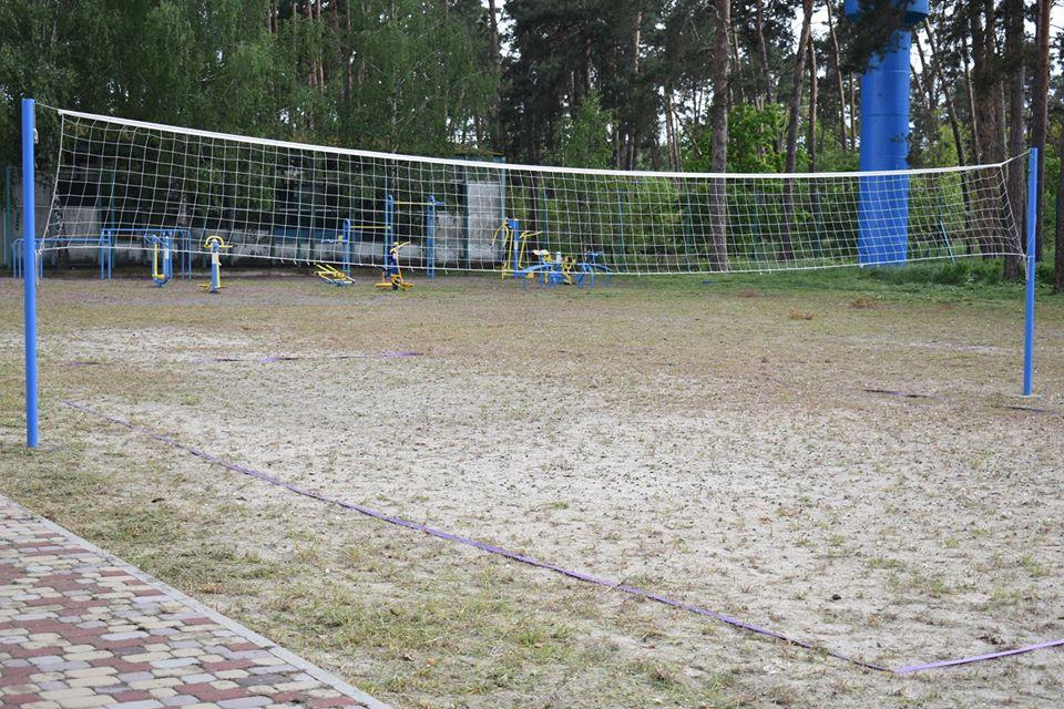 Спортивні майданчики, Вишгородський район. Фото