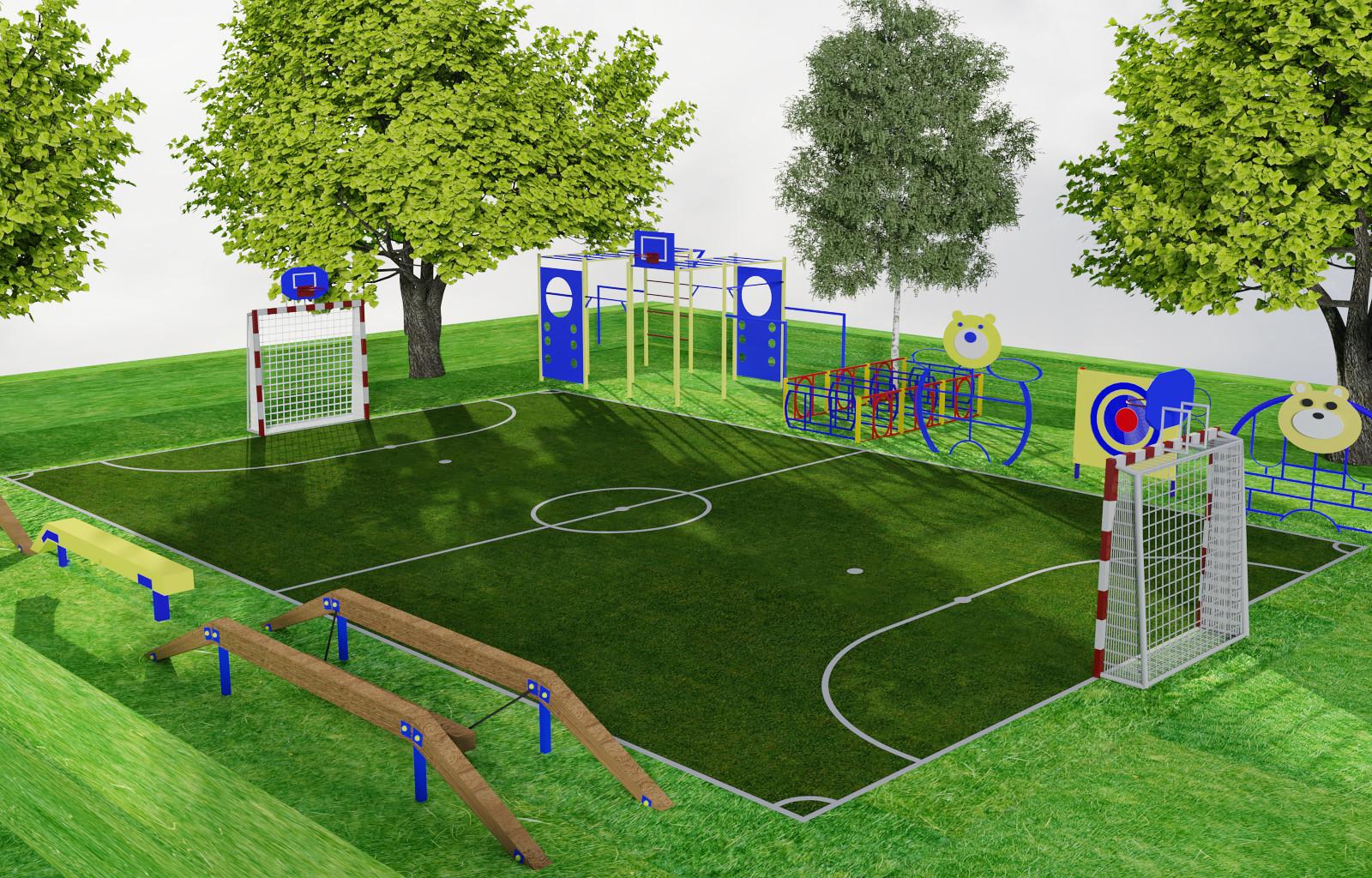 шаблону картинки оборудования для спортивных площадок позволяет