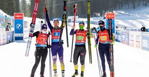 Чемпіонат світу з біатлону. 20 лютого, Поклюка (Словенія). фото