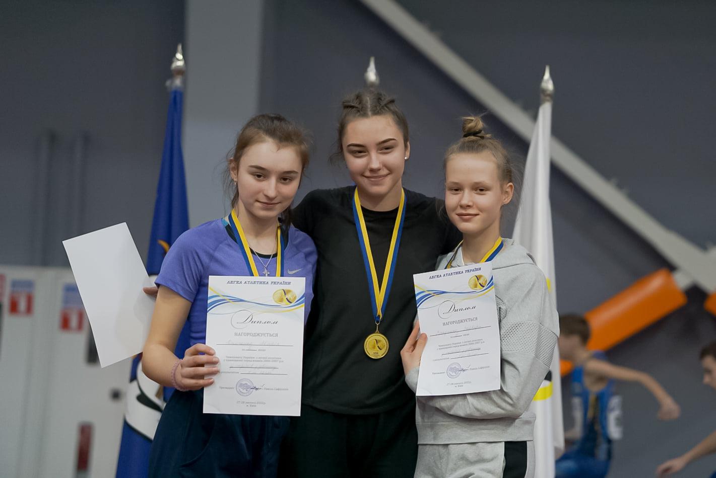 Чемпіонат України серед ДЮСШ та СДЮШОР з легкої атлетики у приміщенні серед юнаків 2006-років народження. фото