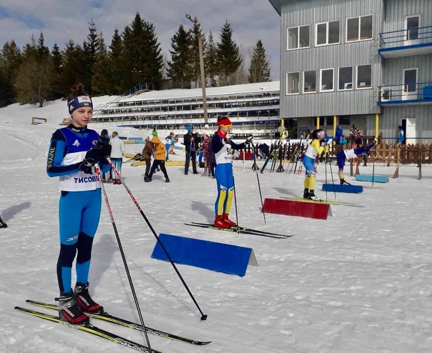 Чемпіонат України з лижних гонок серед юнаків та дівчат. фото