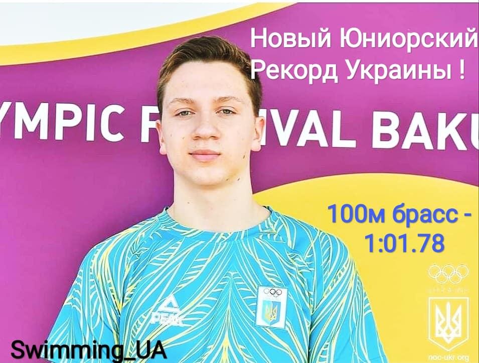 Чемпіонат України з плавання серед молоді та юніорів. фото