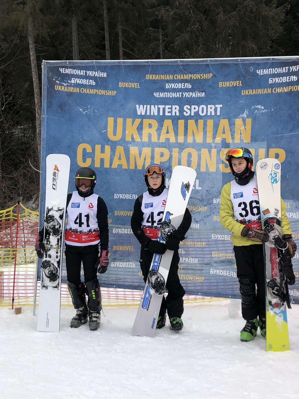 Чемпіонат України зі сноубордингу. фото