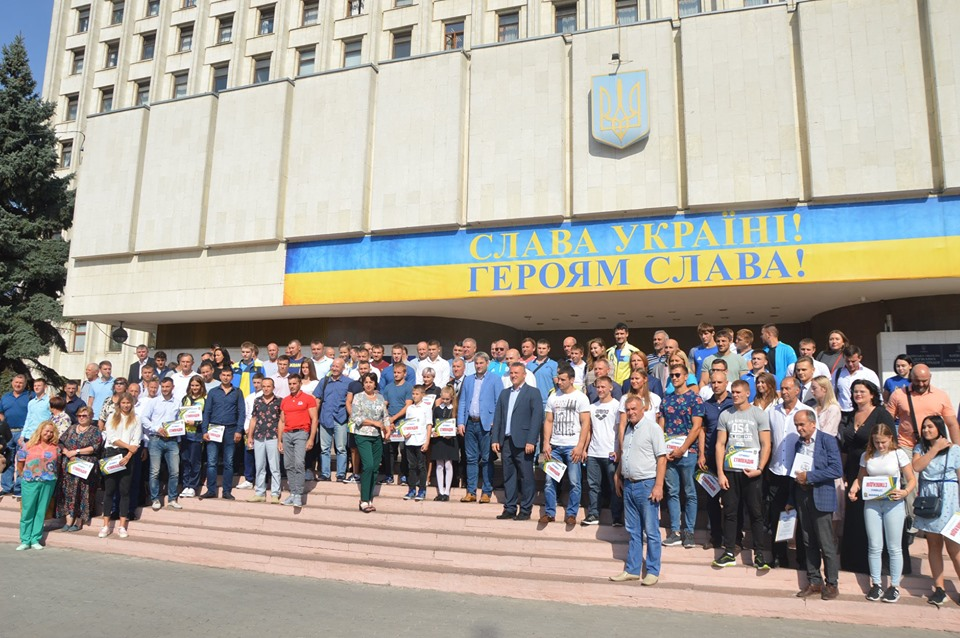 Спортсмени Київщини. фото