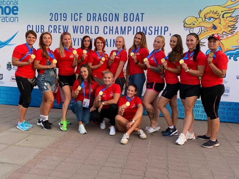 Команда Dragon Boat Club Kyiv. Фото