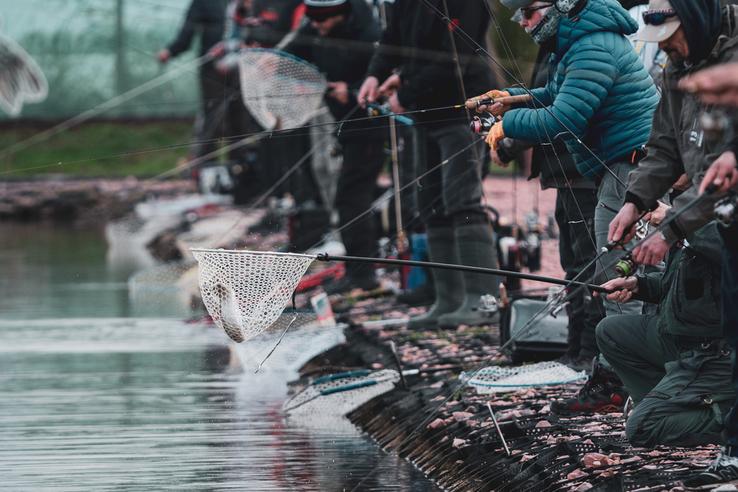 чемпіонат України з лову форелі в озерах, Баришівський район. фото