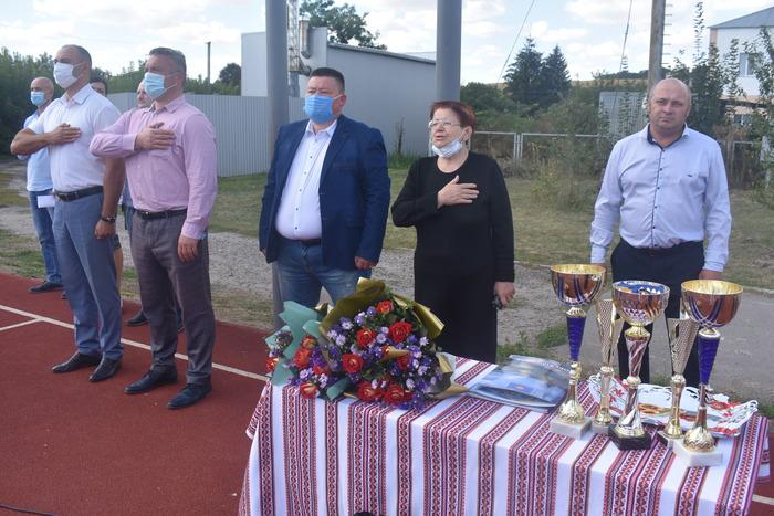Відкриття воркаут-майданчиків в Обухівському районі. Фото
