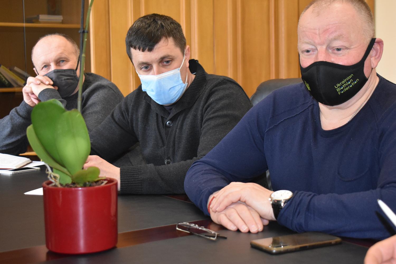 Розширена нарада в Київській ОДА: біатлон. Фото