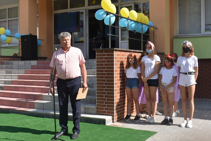 Відкриття мультифункціонального майданчика у Володарці. Фото