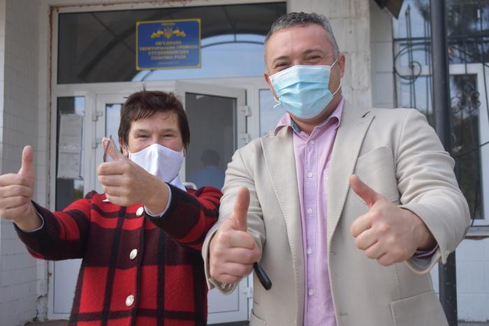 Візит Сергія Тимофєєва до Яготина, Студеників та Переслава. Фото