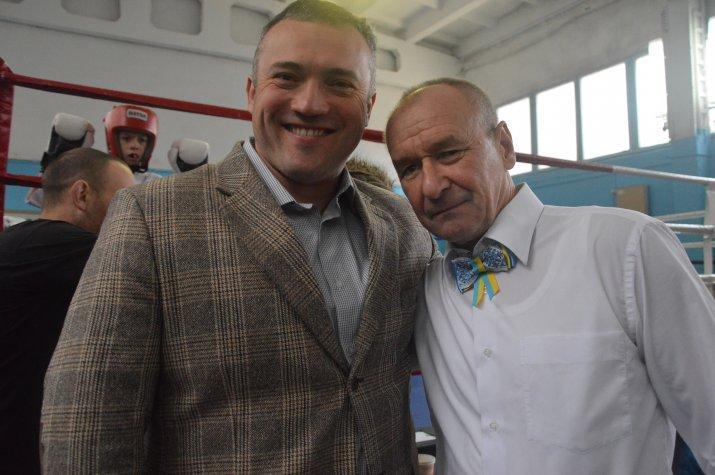 Сергій Тимофєєв, Віталій Потебенько. Фото